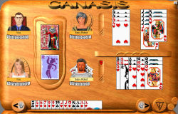 CardGameCentral Games - Canasis - FREE card games, board games, and dominoes